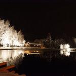Traumhafte Winterstimmung am Forellensee