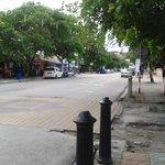along the Cenang road