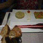 Wonderful vegetable platter