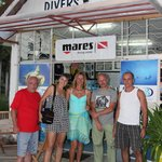 Dive center at Beau Vallon