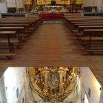 Reflejo del retablo