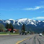 Entering Whitefish, Montana