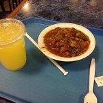 Okra and lemonade