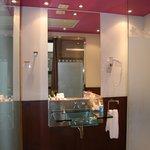 Salle de bains à multi-jets