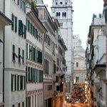 Via S. Lorenzo con la Cattedrale