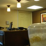 Another view of front desk area