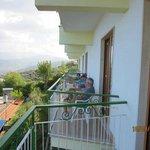 Enjoying Il Nido balconies