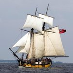 The 1768 Schooner Sultana sailing from Chestertown, Maryland