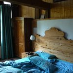 Zimmer im Dachgiebel (zweiter Stock)