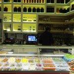 la banque de produits pour la cuisine