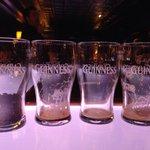 Tasting 3 varieties in the connoisseur bar