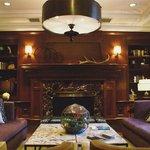 Very cozy lobby