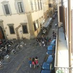 View of the Piazza from our room