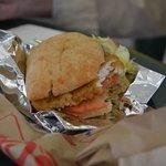 Chicken Sandwich - Very good.