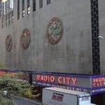 Outside of Radio City Music Hall