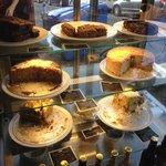 Delicious cake selection