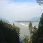 view from porch of Fraser River