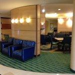 Entrance into hotel