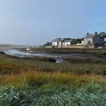 View close to the Aberffraw Llys Llewellyn Tea Rooms