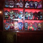 Luchador masks - Mexican wresters