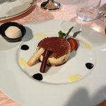 Il Tiramisù col gelato di amaretti