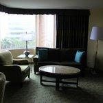 Sitting area room #620