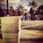 enjoy the café au lait and the view