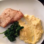 Yellow Snapper with goat cheese polenta