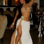 The fabulous belly dancers on Moroccan night