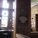 Bar entrance from dining area