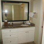 Sink/vanity area. I liked that it was seperate from the tub/toilet