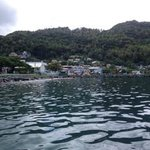 Soufriere from the water