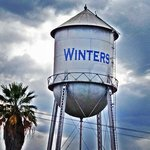 The Winters water tower