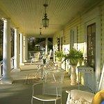 Yellow Turtle Inn wrap around front porch