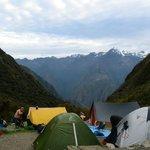 Campamento del 2° día (el más difícil!!)