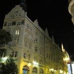 Hotel Paris at night