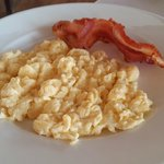 Breakfast - Bacon and Scramble Egg