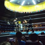 Thai boxing is not just Thai's but this match had a Russian against a Frenchman