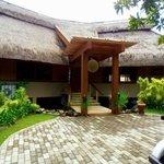 The impressive Balai Datu villa