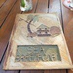 Seabreeze Cafe menu