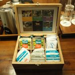 Pantry area - Free flow of coffee capsules & Dilmah Tea