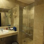 Bathroom with our Princess Suite
