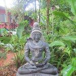 Buddism-style decoration