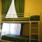 QUADRUPLE ROOM bunk beds