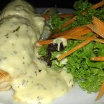 Chicken with creamy tarragon sauce