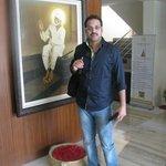 Reception of hotel