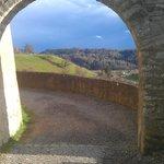 Вид из ворот/View through the gates