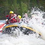 River rafting at river Kitka are also suitable for families.