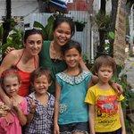 Ma famille avec Thidarat et ses enfants! souvenir!!