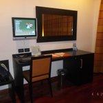 la stanza dell'hotel